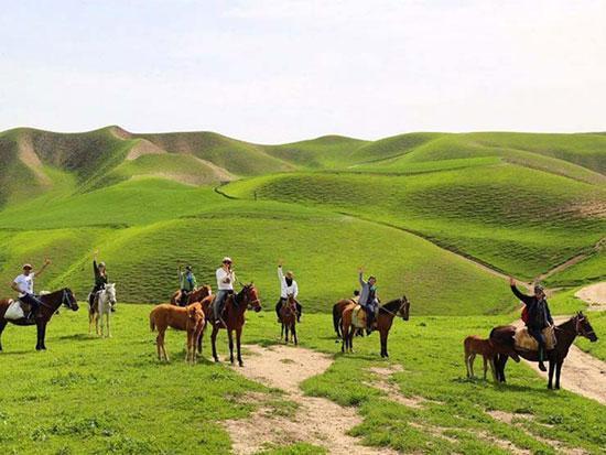 ترکمن صحرا؛ تلفیق صدای دوتار و یال اسب!