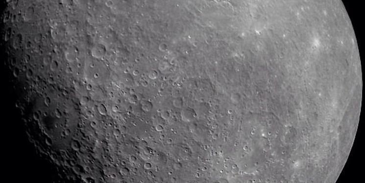 نقشه سه بعدی از ماه