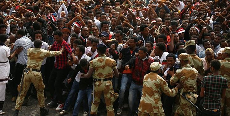 تشدید اعتراضات در اتیوپی و استقرار نیروهای ارتش