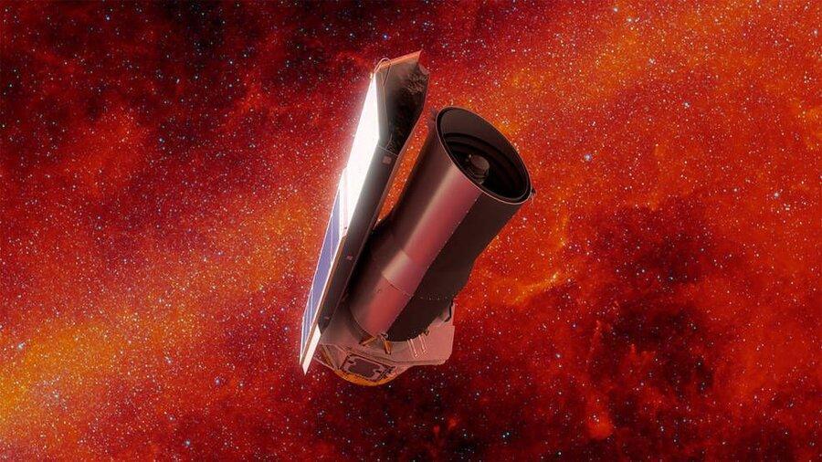 تلسکوپ فضایی اسپیترز ناسا بازنشسته شد