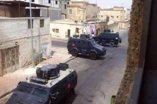 نظامیان رژیم آل سعود به منطقه شیعه نشین العوامیه یورش بردند
