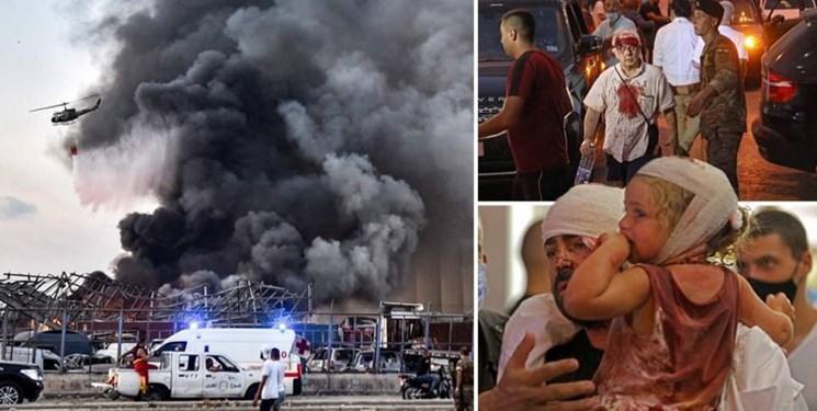 احتمال افزایش شمار قربانیان انفجار بیروت
