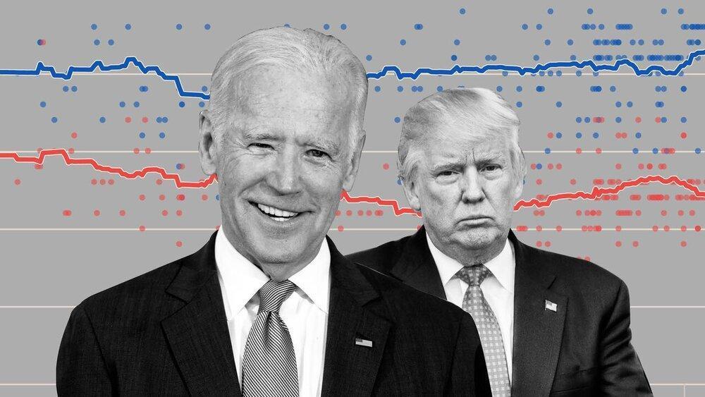 فاصله آرای بایدن و ترامپ در پنسیلوانیا به 164 هزار رای رسید