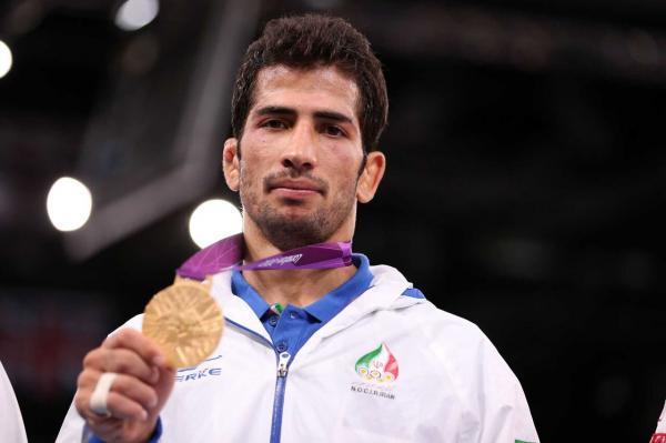 خبرنگاران دارنده مدال طلا المپیک: به آینده کشتی فرنگی ایران خوشبین هستم